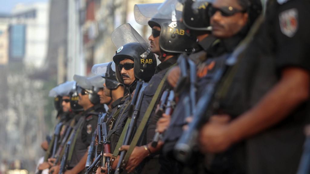 Vojáci v Bangladéši