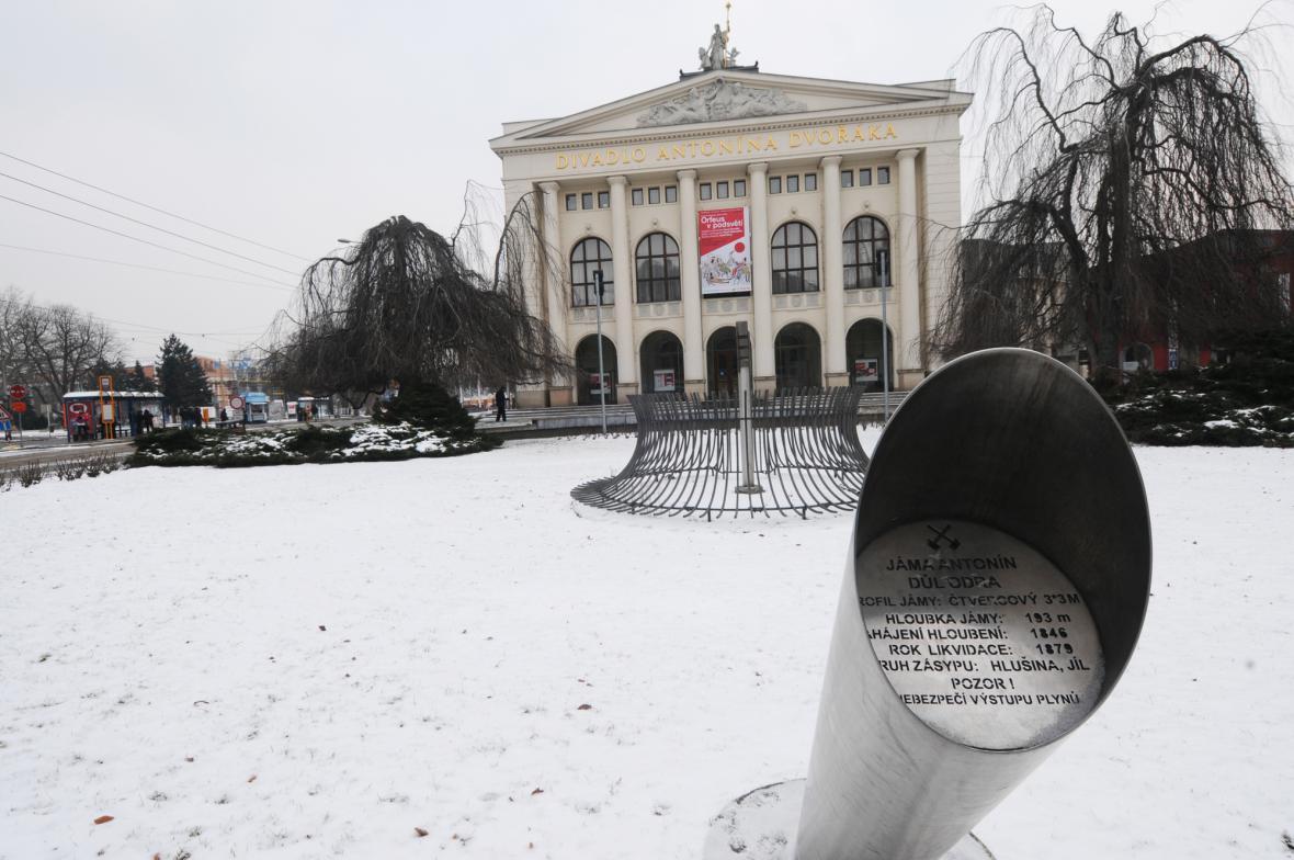 Ostrava - Divadlo Antonína Dvořáka