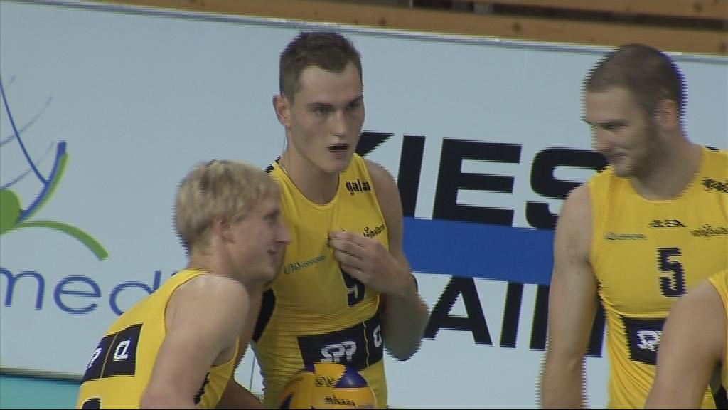 Marek Zmrhal letos okusil volejbalovou extraligu v dresu Brna