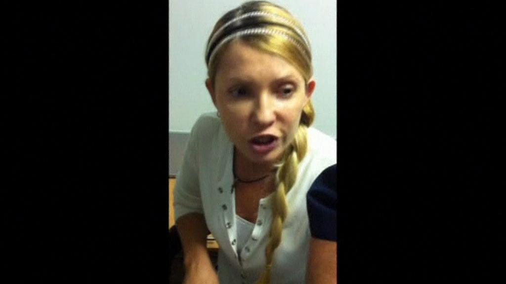 Julija Tymošenková se po roce ukázala na videu