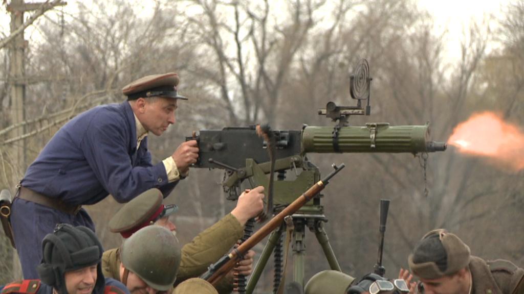 Rekonstrukce bitvy o Kyjev
