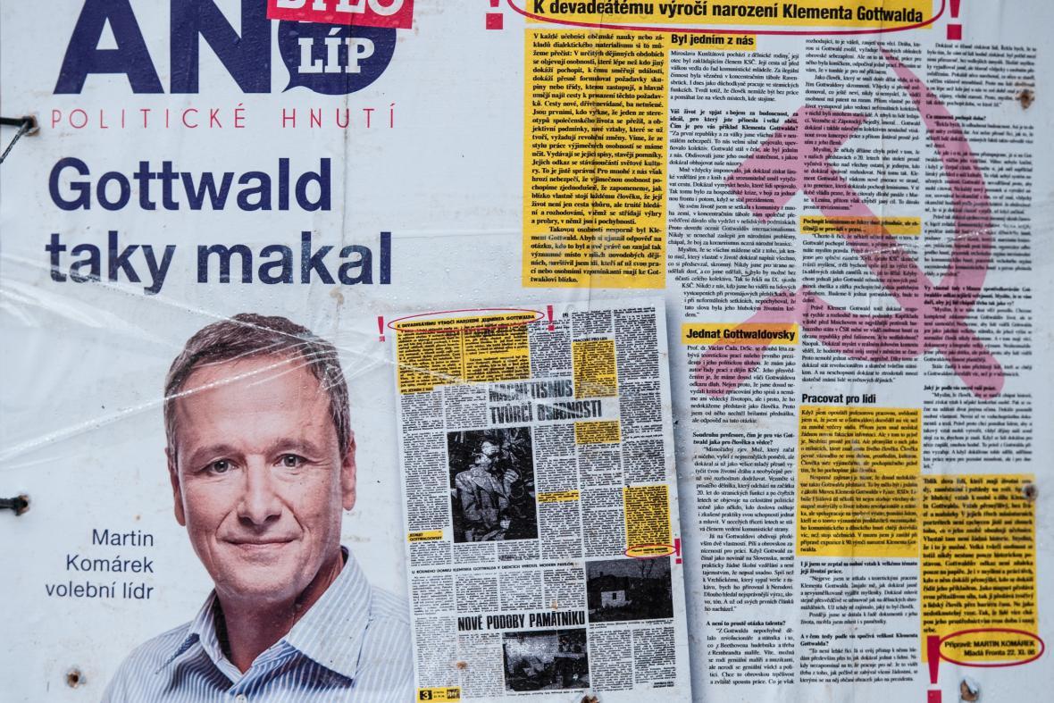 Antikampaň ke kandidatuře Martina Komárka