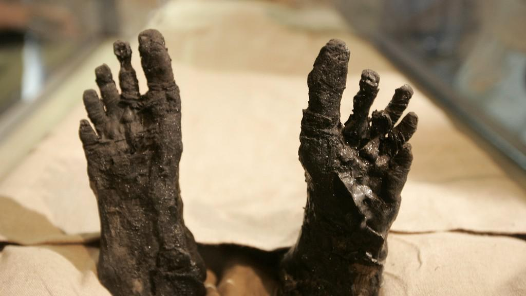 Tutanchamonova mumie