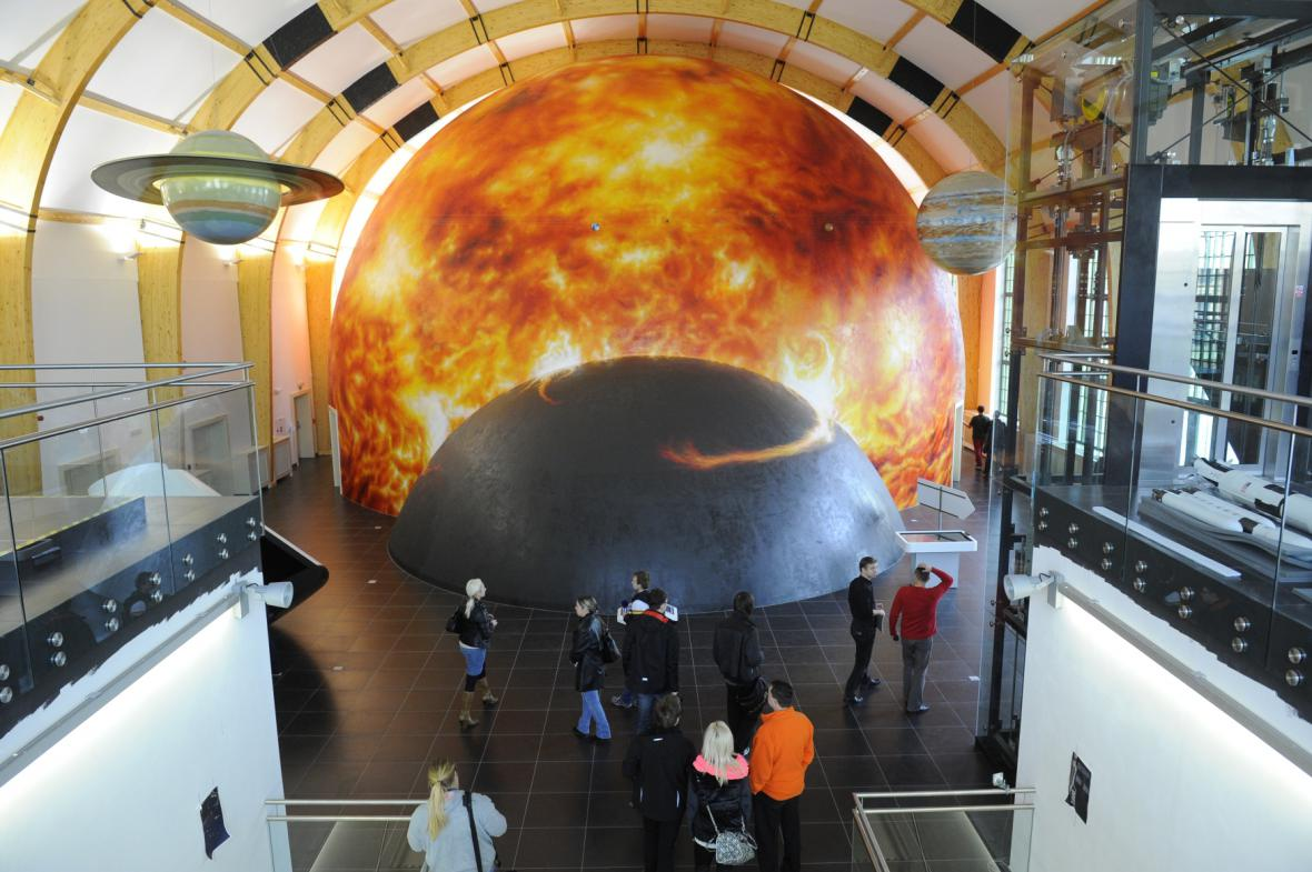 3D planetárium v Plzni