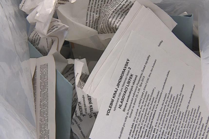 Nevyužité hlasovací lístky