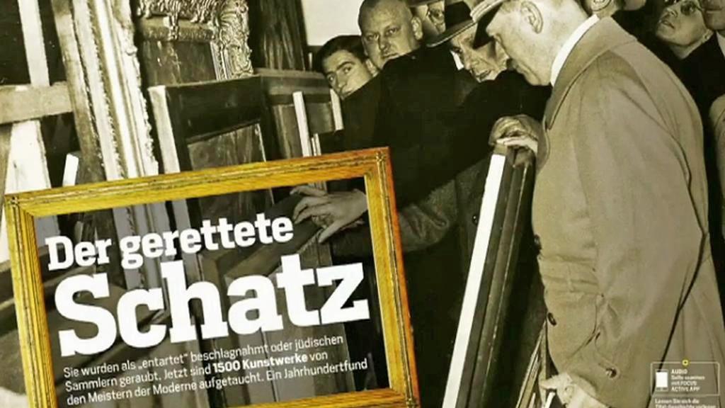 Focus informuje o nálezu 1 500 obrazů v Mnichově