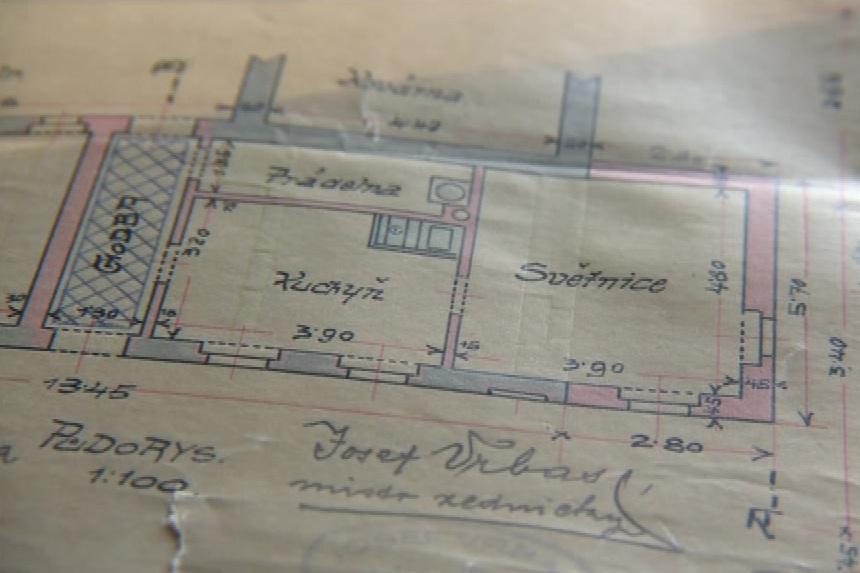 Plány krumvířských domů