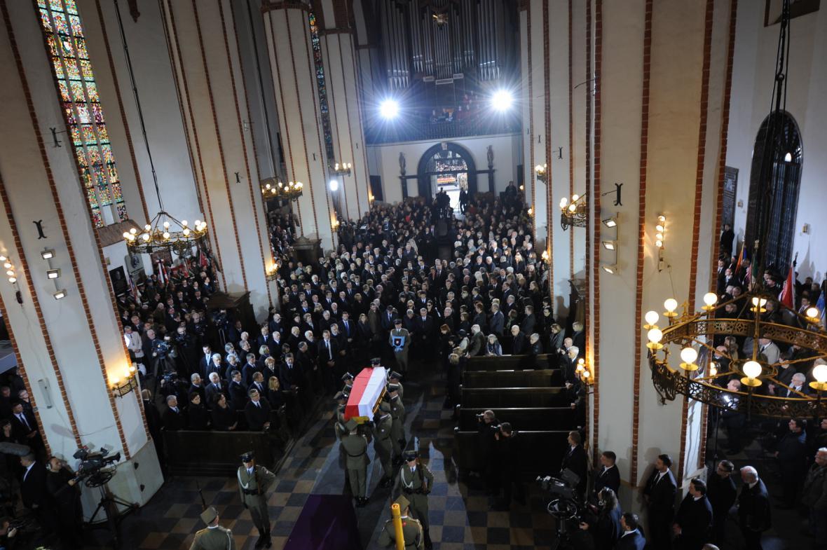 Pohřeb Tadeusze Mazowieckého