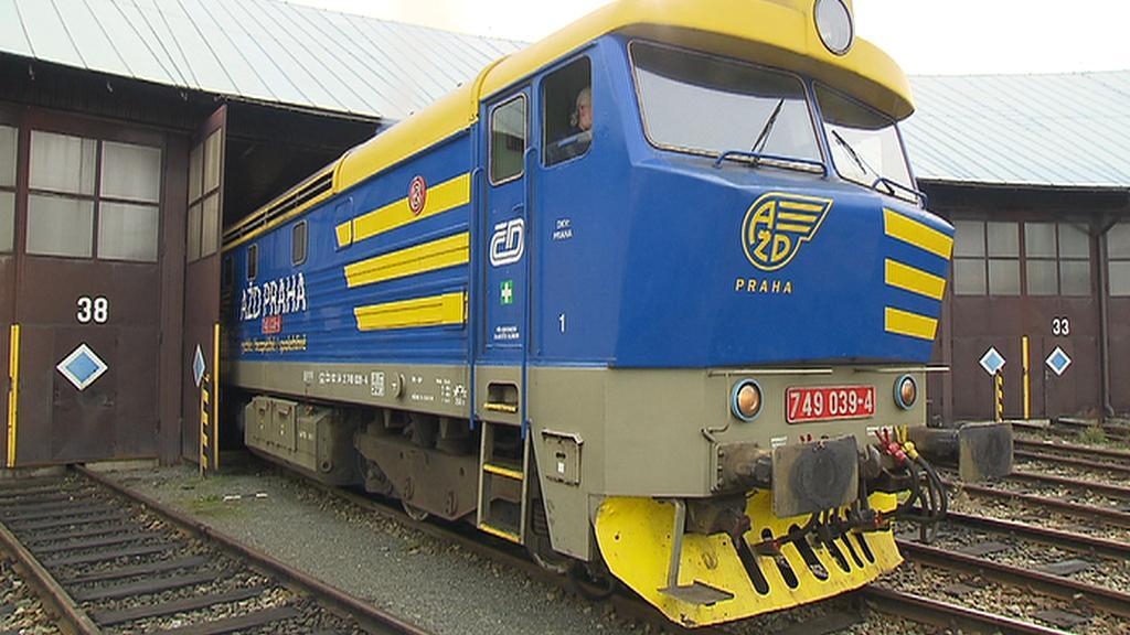 Lokomotiva řady 749 zvaná Bardotka