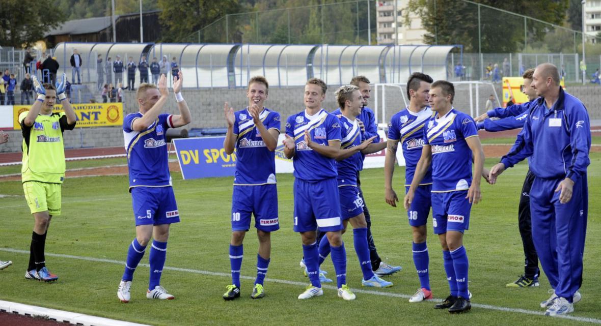 Fotbalisté Ústí nad Labem