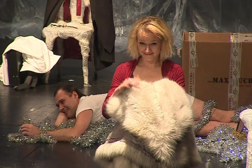 Premiéry hry Nora v brněnském divadle Reduta