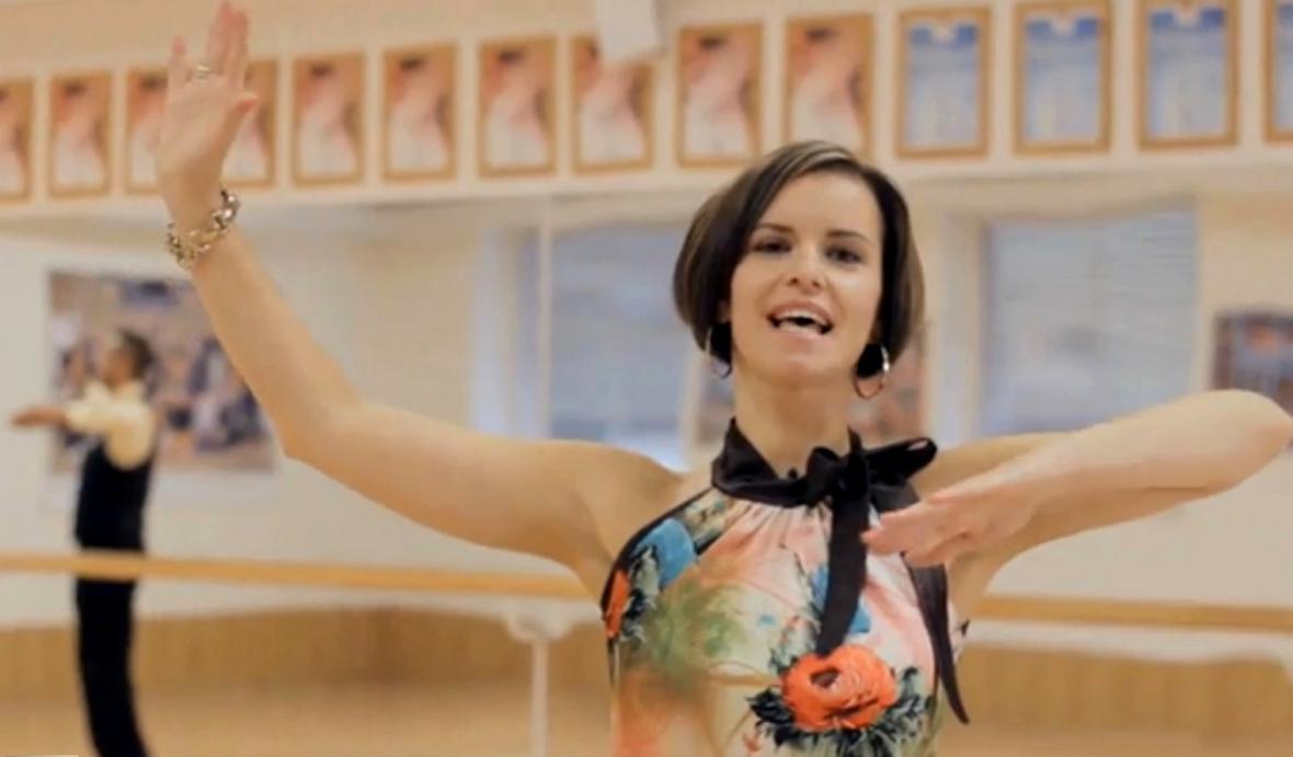 Taneční instruktorka Kamila Tománková