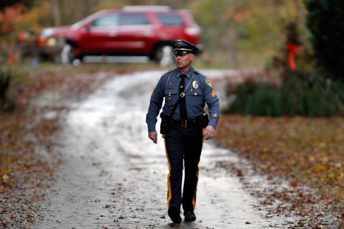 Policie u domu Paula Ciancii v New Jersey