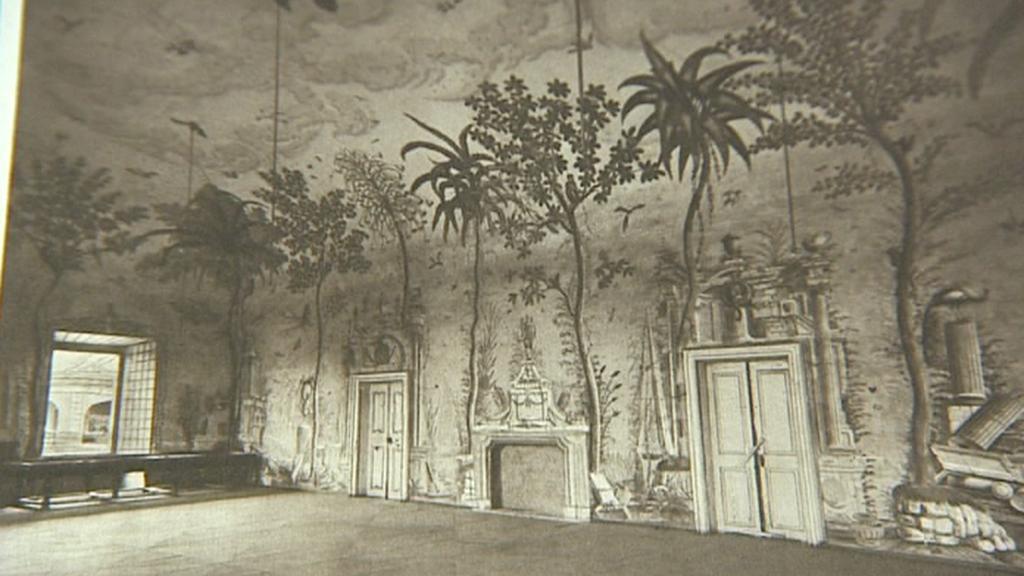 Původní podoba tanečního sálu