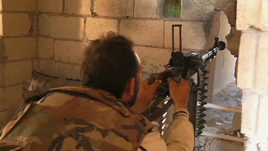 Ozbrojenec hnutí Hizballáh