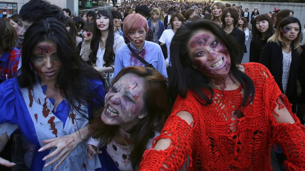 Zombie v Japonsku
