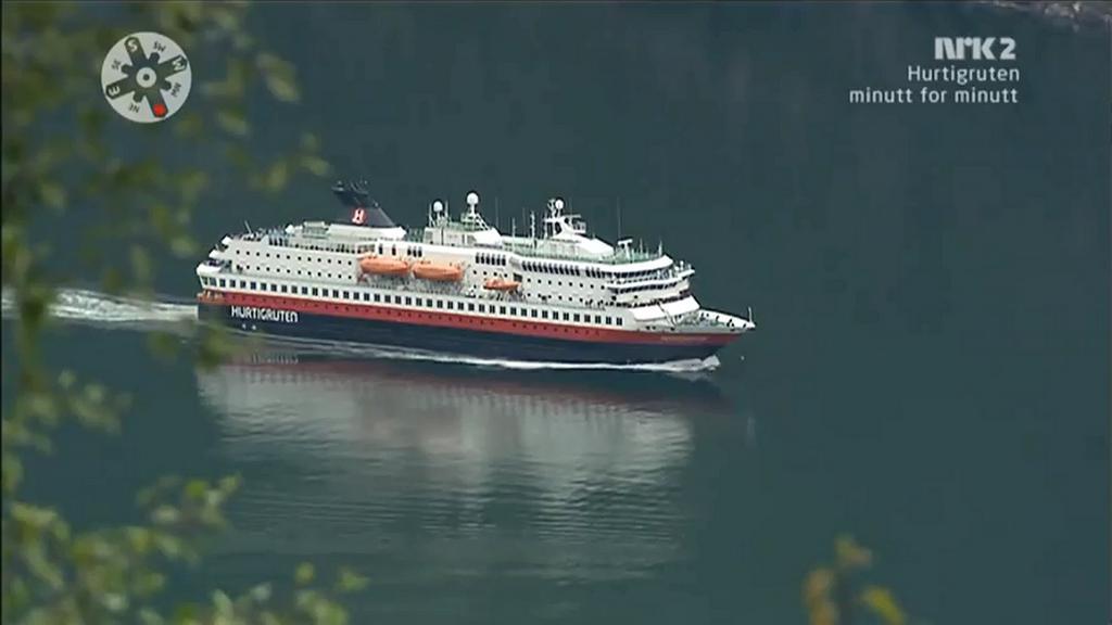 NRK vysílala 134hodinovou plavbu trajektu