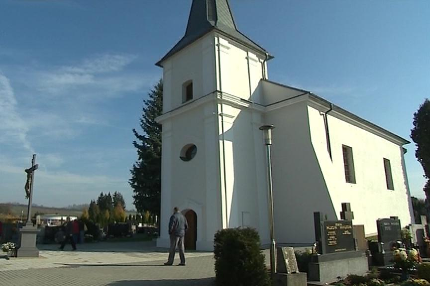 Mařatický kostel v Uherském Hradišti