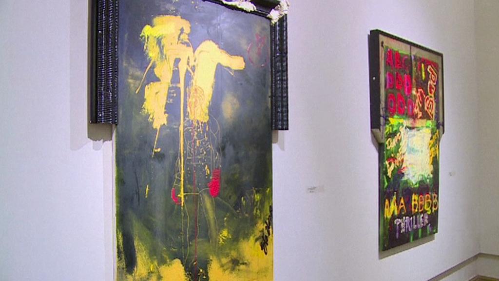 Sylvestr Stallone vystavuje v ruské galerii