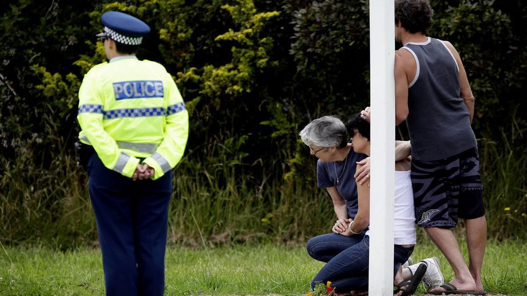 Nehoda balónu na Zélandu