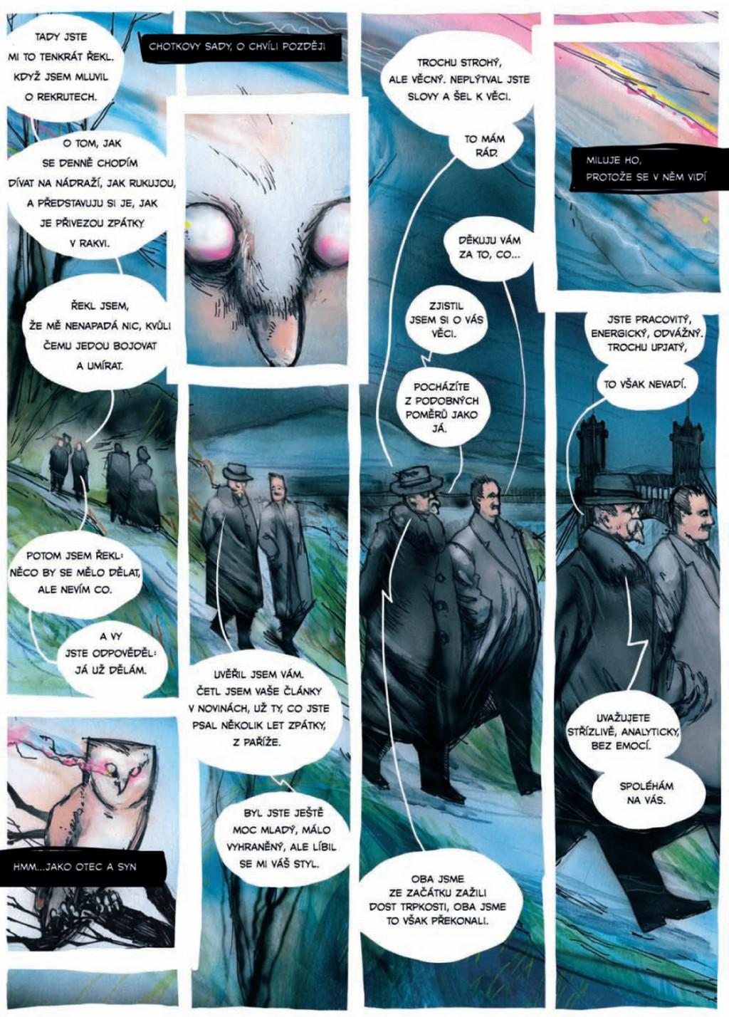 Jak Masaryk vymyslel Československo