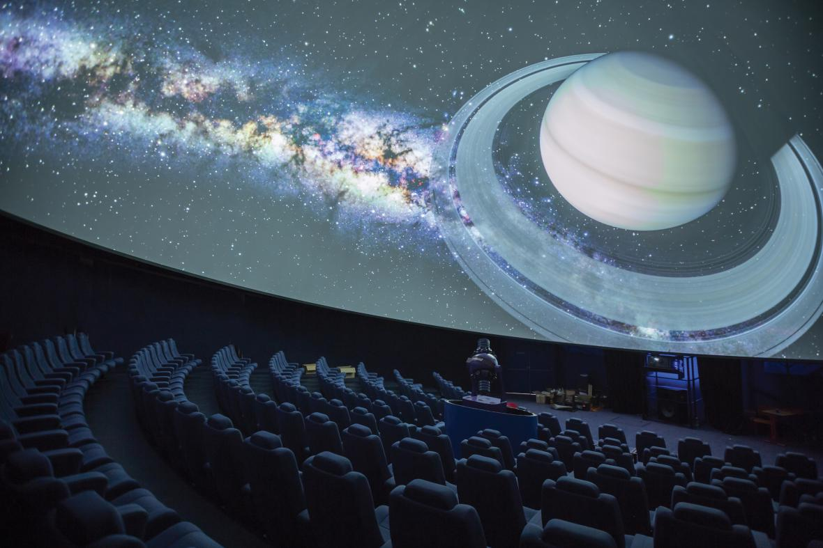 Digitárium Hvězdárny a planetária Brno