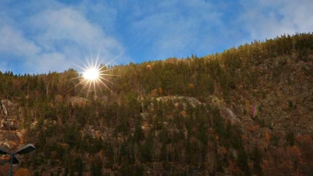 Norský Rjukan rozzáří obří zrcadla i v zimě
