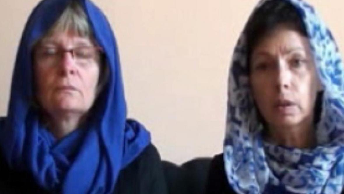 Matky unesených Češek děkují únoscům