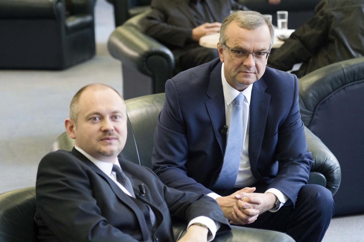 Michal Hašek a Miroslav Kalousek