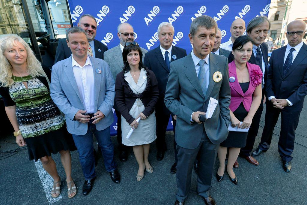 Zahájení předvolební kampaně hnutí ANO