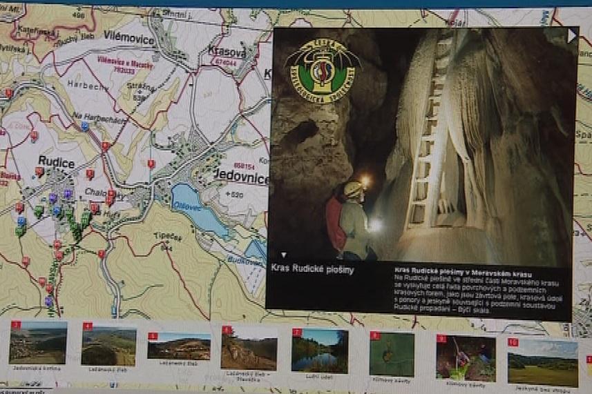 Rudice v Moravském krasu nabízí virtuální prohlídku
