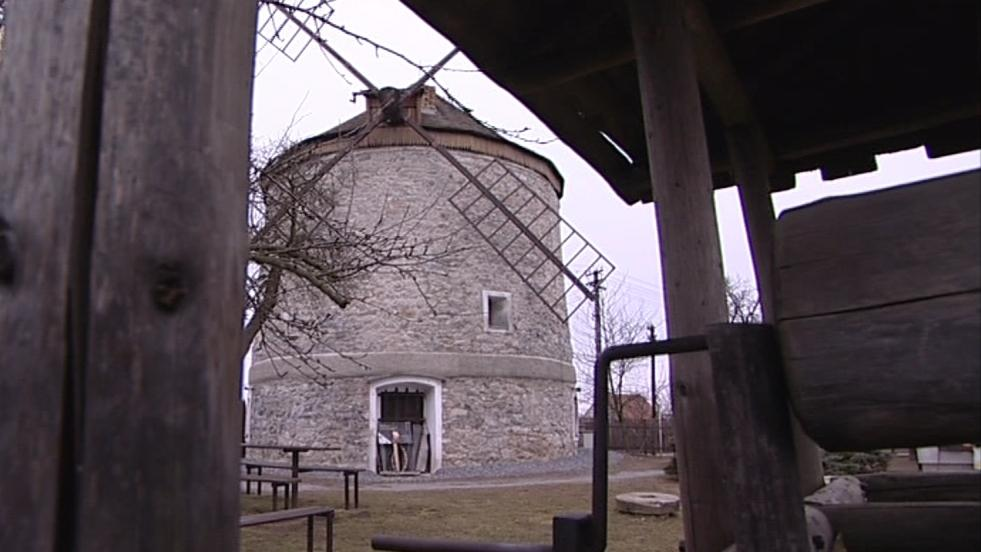 Větrný mlýn Rudice