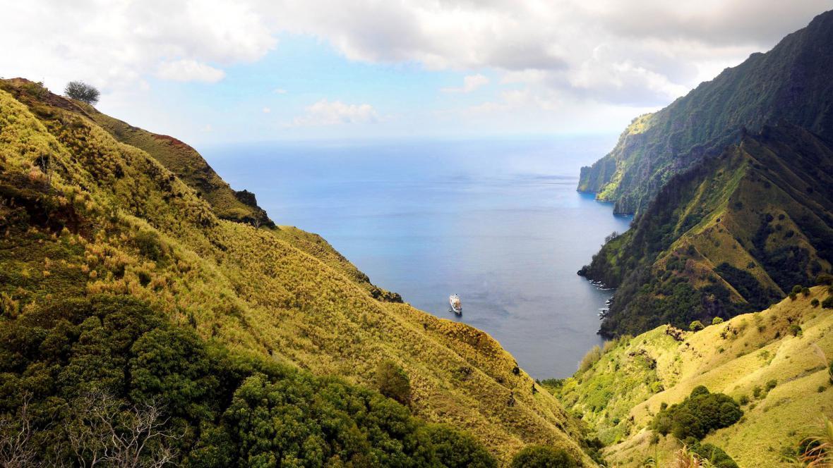 Markézy blízko Tahiti