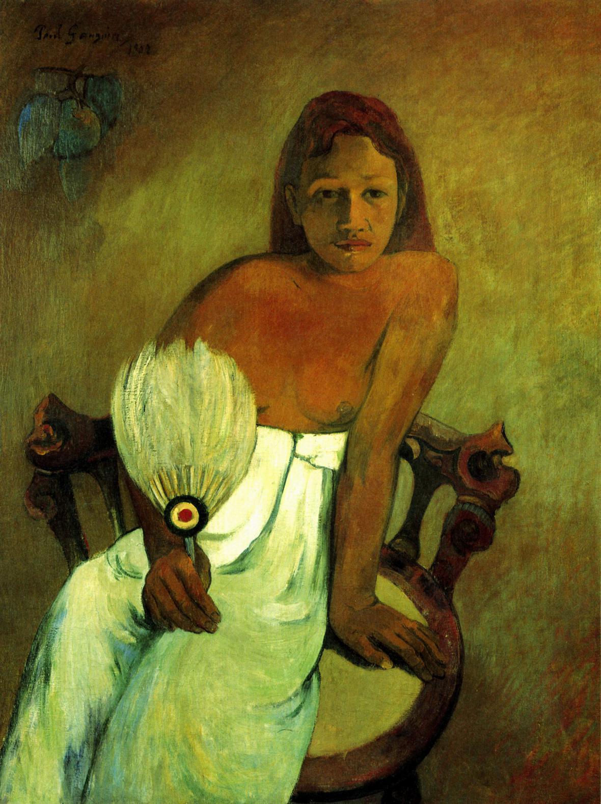 Dívka s vějířem