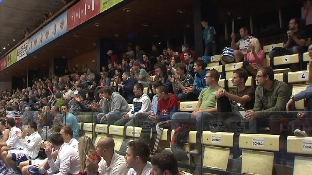 Hala Moravské Slavie je nejmenším stánkem v nejvyšší soutěži