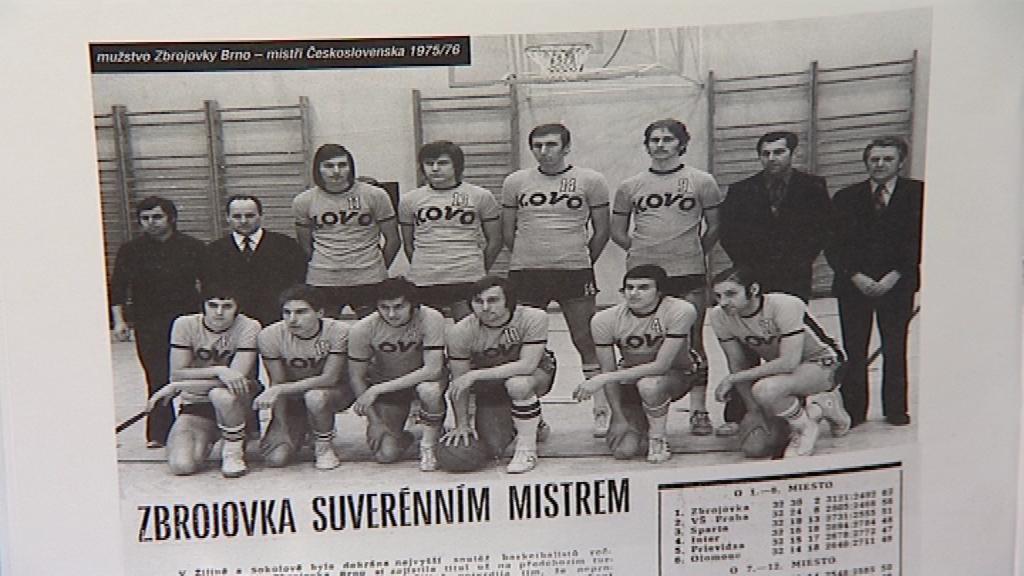 Brněnský basketbal se chlubí třiadvaceti tituly mistrů republiky