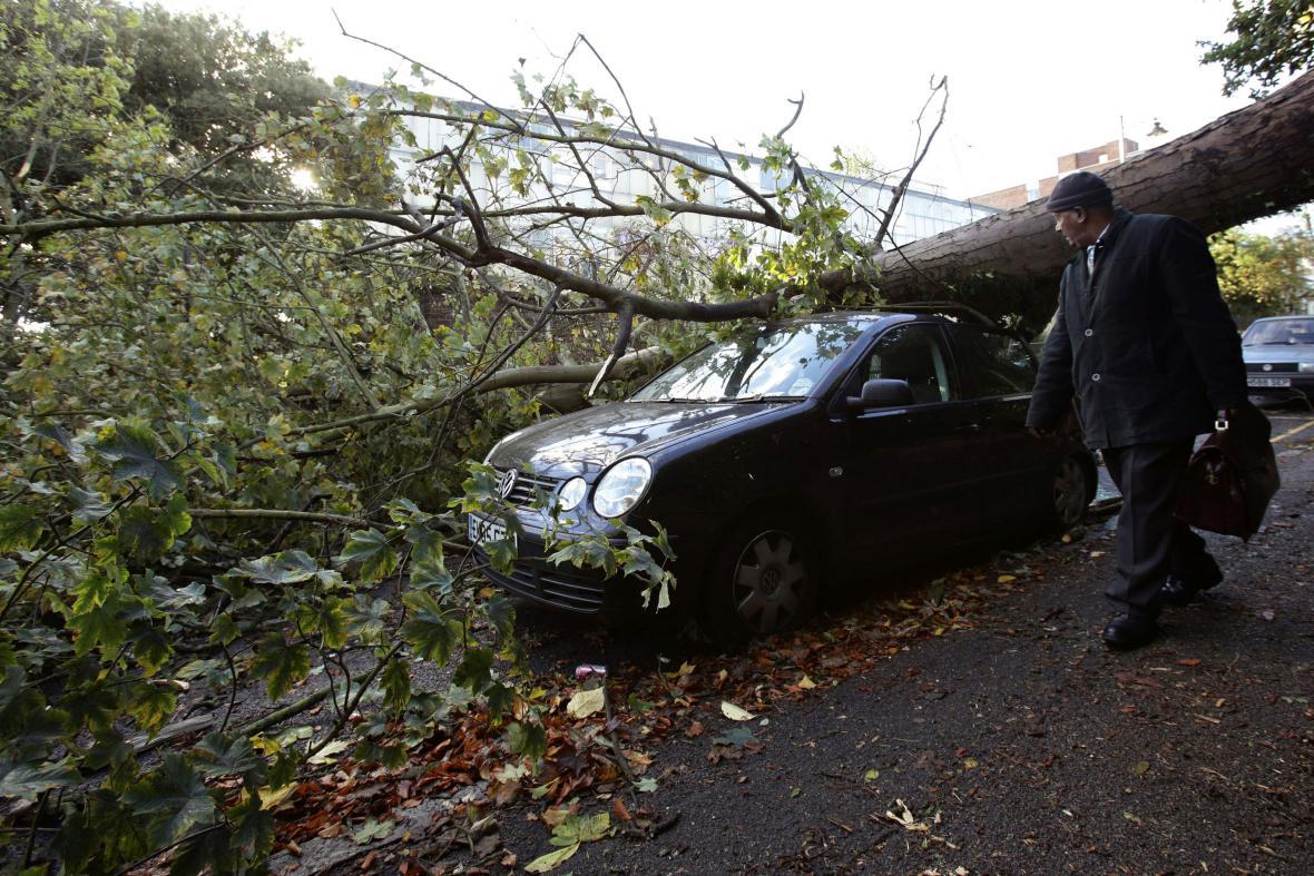 Bouře v Británii