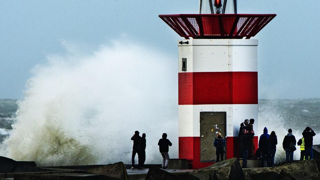 Bouře v Nizozemsku