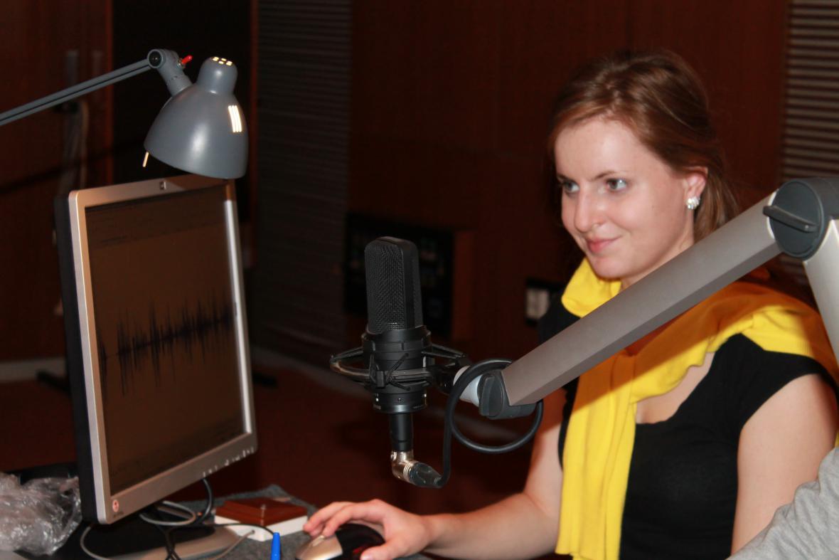 Studentka Jitka Rosenbaumová
