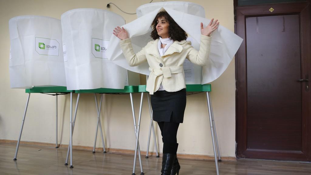 Volby v Gruzii