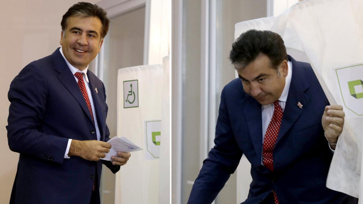 Prezident Saakašvili volí