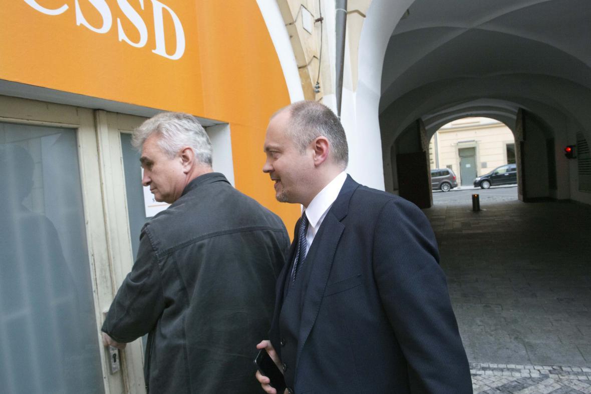 Michal Hašek a Milan Štěch