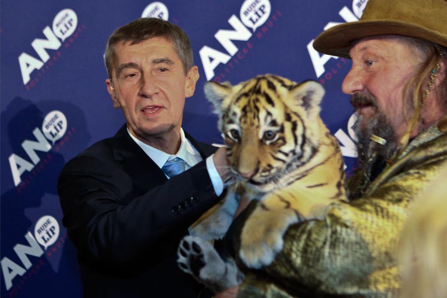 Andrej Babiš po volbách
