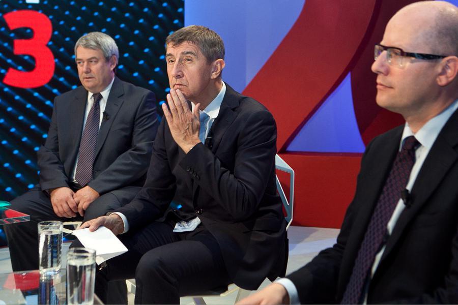 Debata vítězů ve studiu ČT