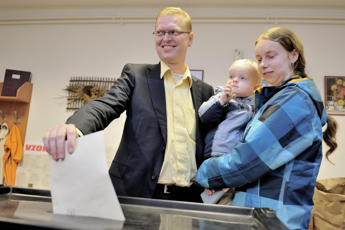Pavel Bělobrádek u voleb