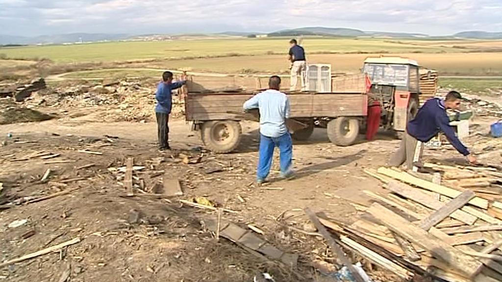 Likvidace romské osady Letanovský mlyn