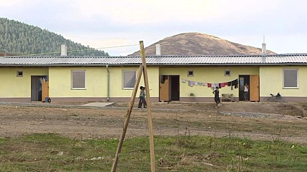 Nová romská osada u Letanovců
