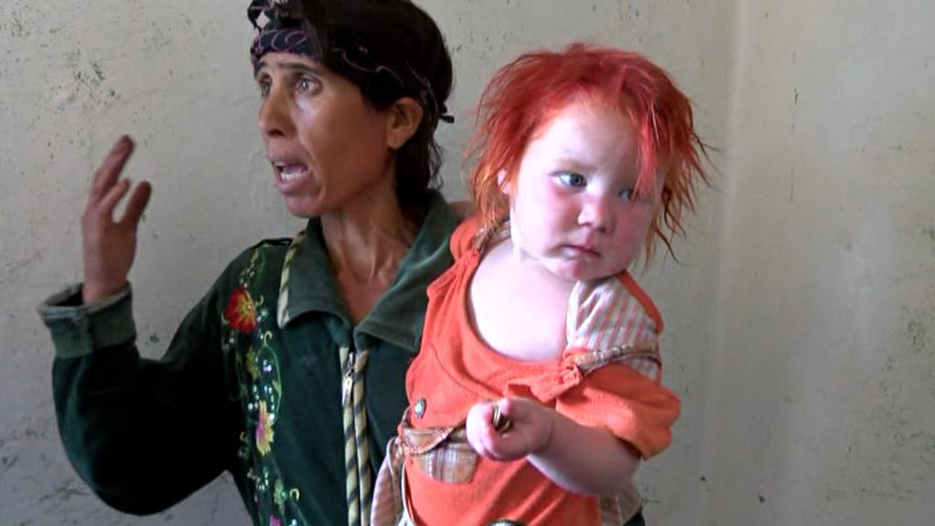 Bulharka Saša Rusevová je matkou dívky nalezené v Řecku