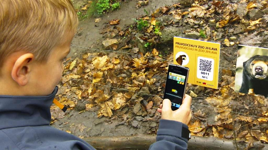 Virtuální průvodce v jihlavské zoo