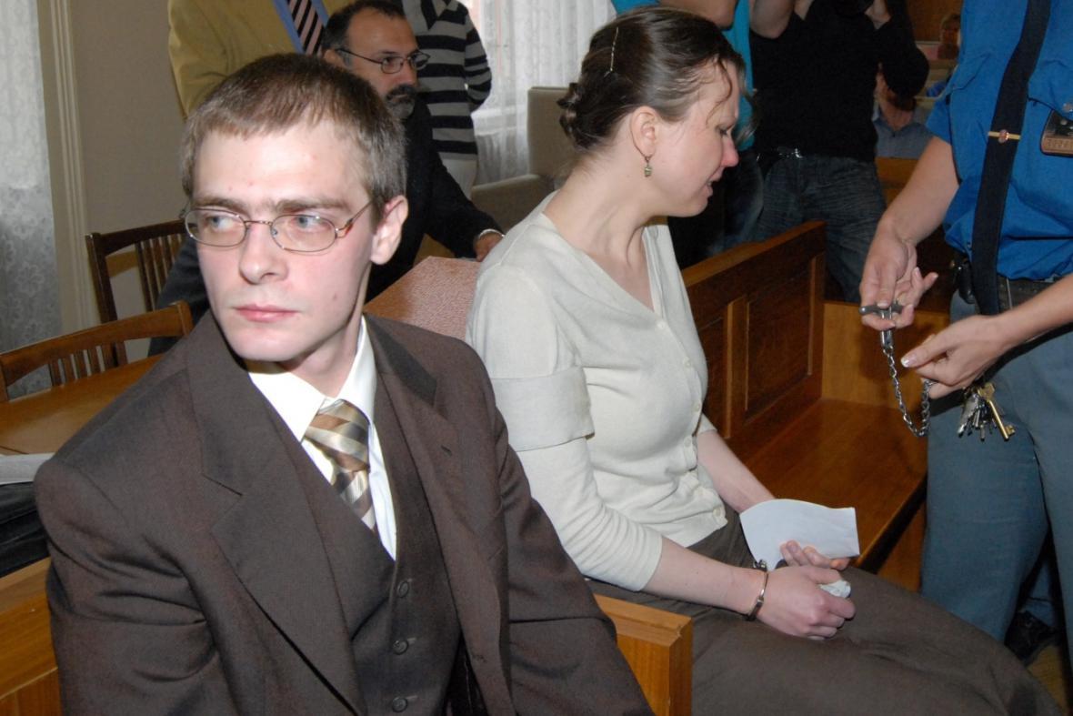 Jan Škrla a Klára Mauerová